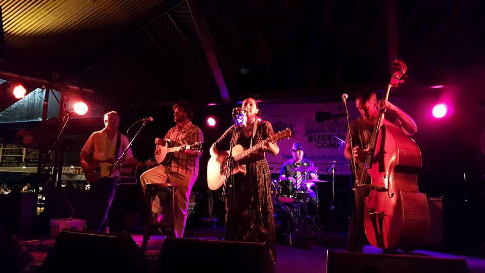 Christina Giorgio Byron Blues Festival Busking Competition